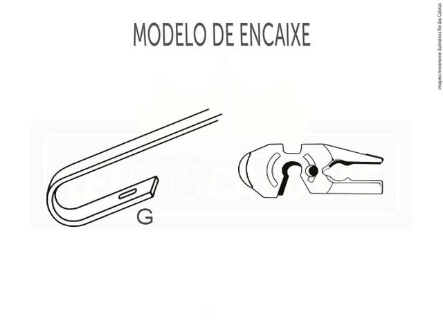 Imagem de Kit de Palhetas Limpadoras de Parabrisa Volkswagen Fox 2003 2004 2005 2006 2007 2008 2009 2010 2011 2012