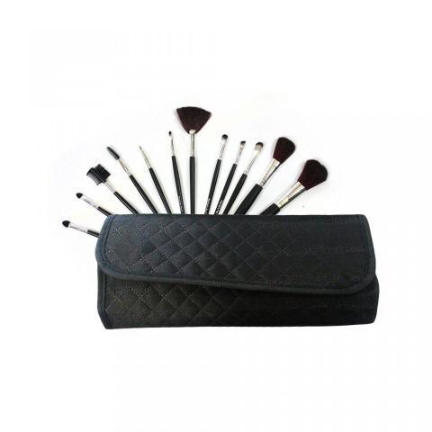 Imagem de Kit de Pincéis para Maquiagem Macrilan c/12 Pincéis KP1-5C
