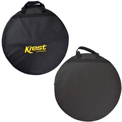 Imagem de Kit De Pratos Krest Modelo Tz 14/16/18/20 Liga B8 + Bag
