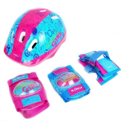 Imagem de Kit De Proteção Infantil Multilaser Atrio Feminino Es105