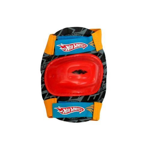 Imagem de Kit de Protetores Infantil para Bicicleta e Patins Skate - M - Hot Wheels