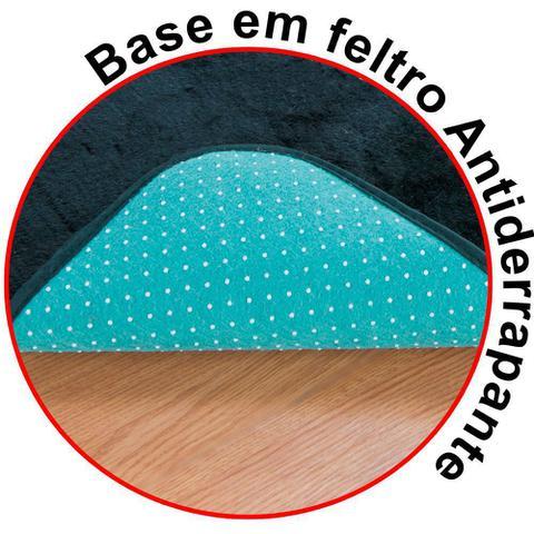 Imagem de Kit Decoração Bebê Urso p/ Quarto Infantil = Cortina 2 Metros + Tapete Pelúcia - Azul Turquesa