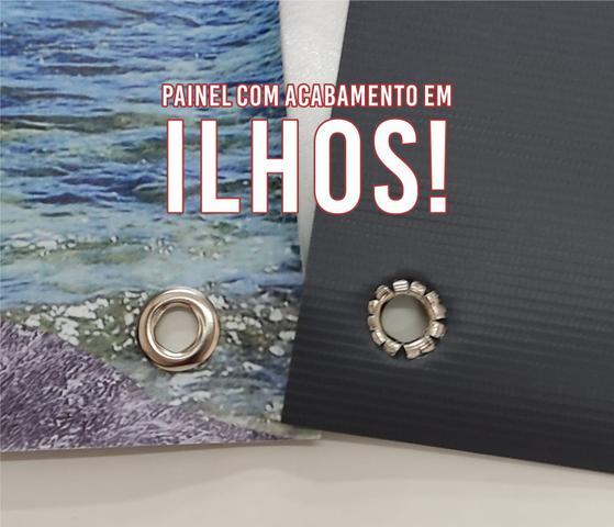 Imagem de Kit Decoração de Festa Totem Display 8 peças Moana Baby 100x70cm