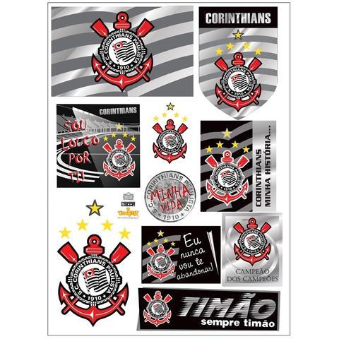 Imagem de Kit Decorativo Cartonado Corinthians