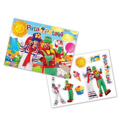 Imagem de Kit Decorativo Cartonado Patati Patatá