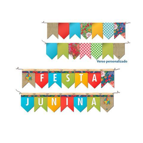 Imagem de Kit Decorativo Especial Só Um Bolinho Festa Junina 99 Peças