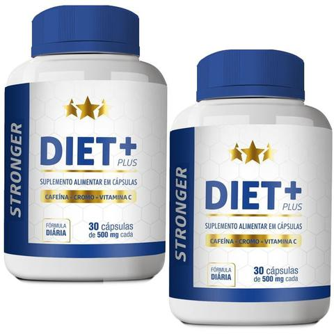 Imagem de Kit Diet + Stronger 30 cáps Plus - 2 unidades