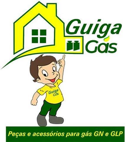 Imagem de Kit Duplo Mangueiras 1,00mt Instalação Gás Glp Cooktop Forno
