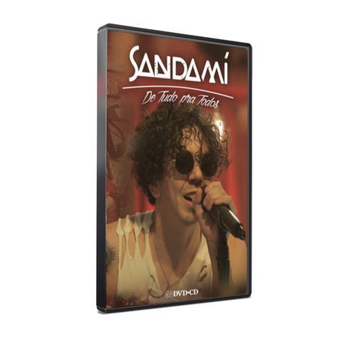 Imagem de Kit dvd+cd sandamí - de tudo pra todos