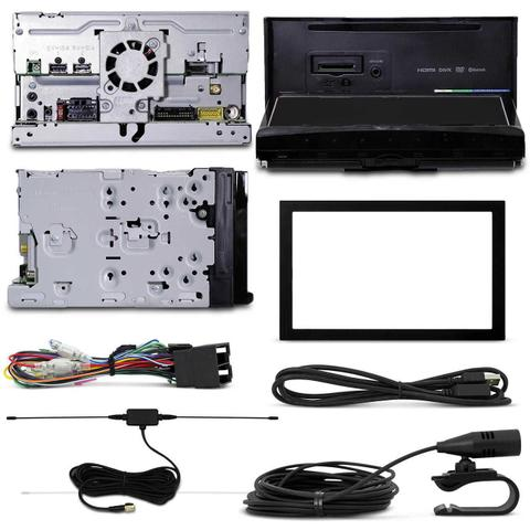 Imagem de Kit Dvd Player Pioneer Avh-z9180tv 2 Din Bluetooth TV Espelhamento Android iOS + Câmera Ré Tartaruga