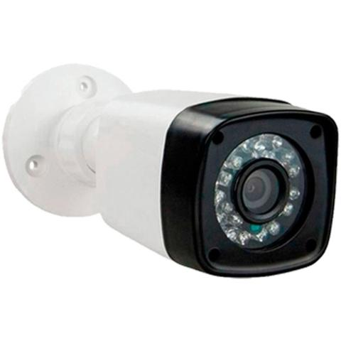 Imagem de KIT DVR Intelbras 4 Canais MHDX + 4 câmeras Infravermelho AHD 720p Alta Resolução