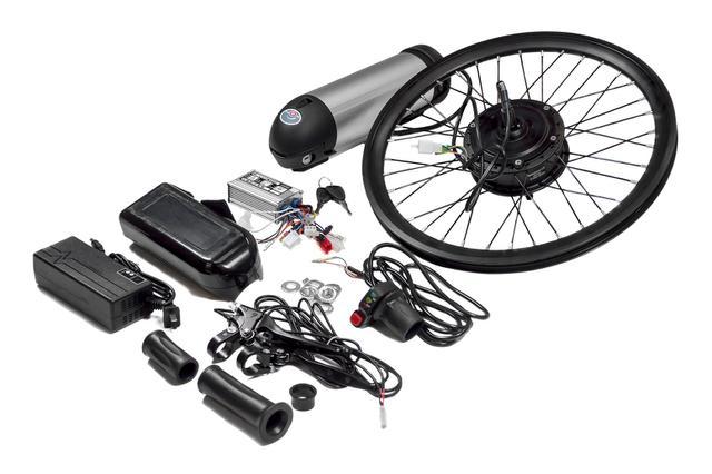 Imagem de Kit elétrico para bicicleta dobrável pliage two dogs