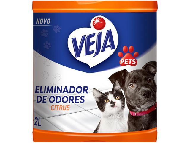 Imagem de Kit Eliminador de Odores Veja Pets Citrus
