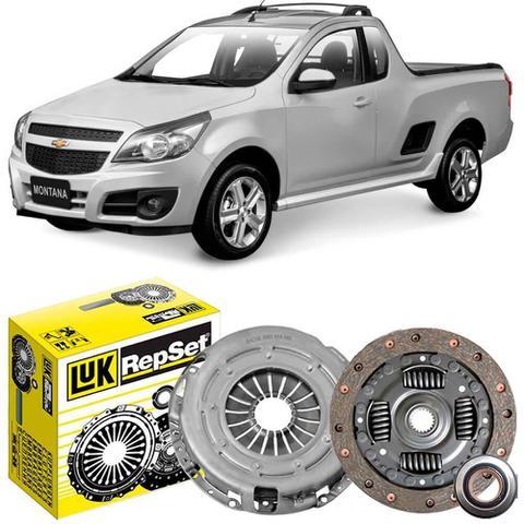 Imagem de Kit Embreagem Chevrolet Montana 1.4 2010 a 2018 Luk