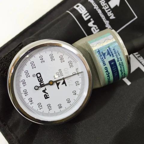 Imagem de Kit Enfermagem Aparelho De Medir Pressão E Esteto Duplo