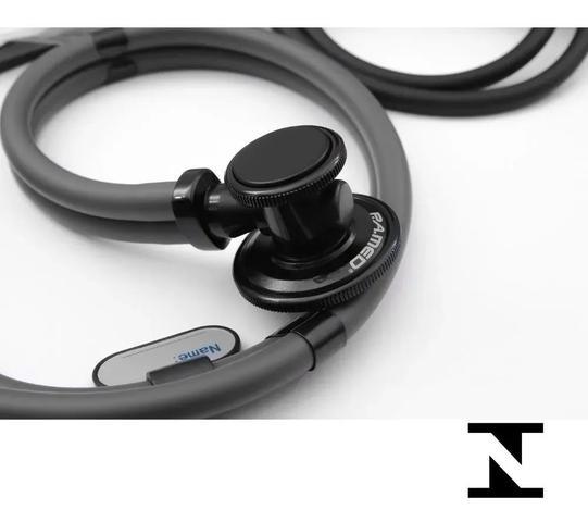 Imagem de Kit Enfermagem Aparelho De Medir Pressão + Estetoscopio Duplo + Oculos + Garrote + Estojo - P. A. MED