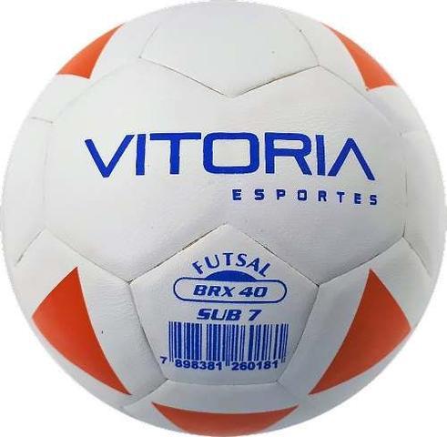0bd9e9c14252c Kit Escolinha De Futsal Sub 7 Bola Max 40 + Acessórios - Vitoria ...