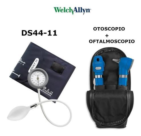 Imagem de Kit Esfigmomanômetro Com Otoscopio Oftalmoscopio Welch Allyn