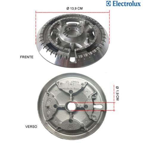 Imagem de Kit espalhadores + bacias p/ fogões tripla chama electrolux 5 bocas 76 exv