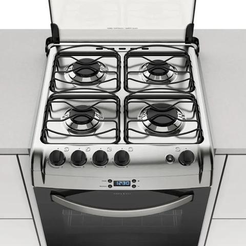 Imagem de Kit espalhadores esmaltados para fogões electrolux 4 bocas 52 exr