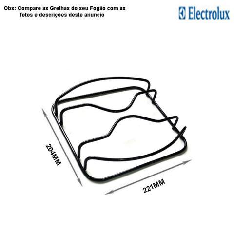 Imagem de Kit espalhadores + grelhas para fogões electrolux 4 bocas 52 rbl