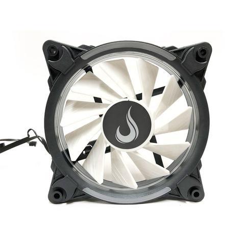 Imagem de Kit Fan Gamer Rise Mode Wave RGB Energy 3 Fans W1-RGB S-LED