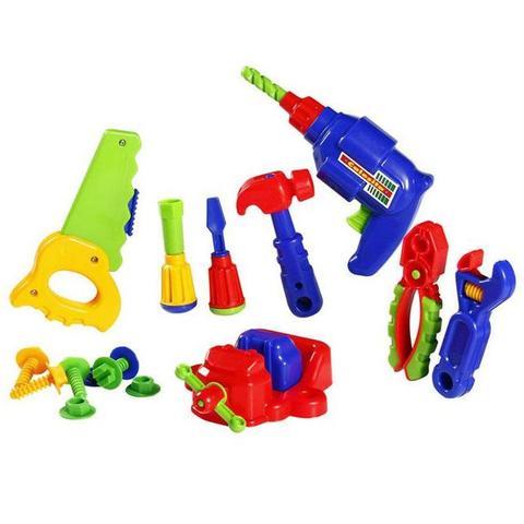 Imagem de Kit Ferramentas Completo Infantil 16 Peças Calesita