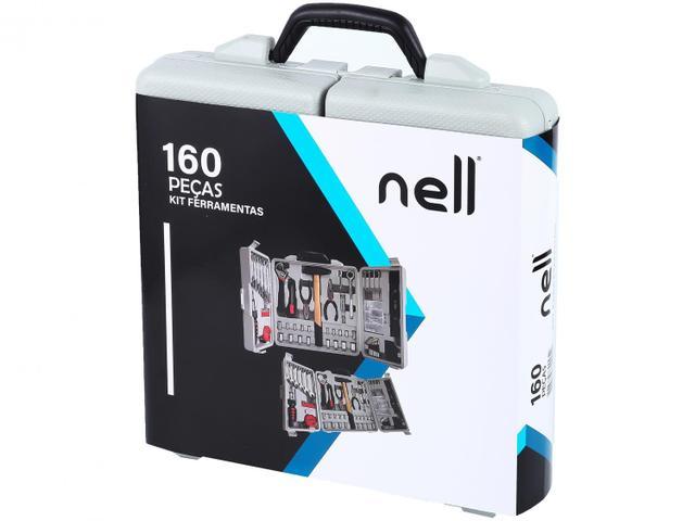 Imagem de Kit Ferramentas Nell 160 Peças XWT0160
