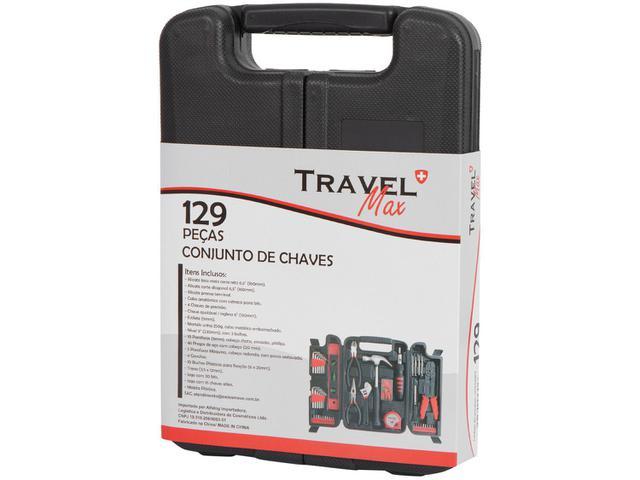 Imagem de Kit Ferramentas Travel Max 129 Peças