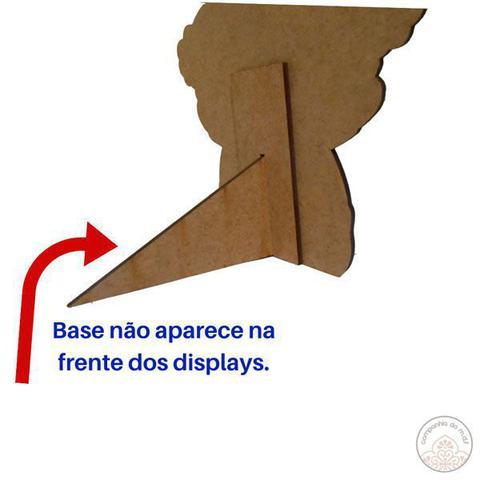 Imagem de Kit festa Mundo Bita com displays de mesa e painel poli banner