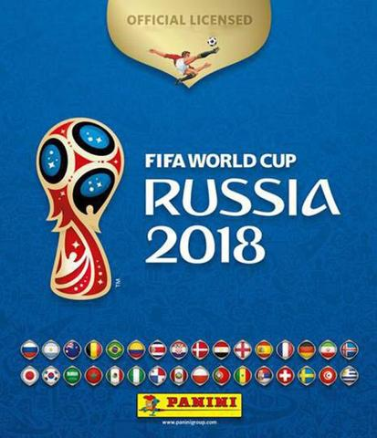 Imagem de Kit Figurinhas Copa do Mundo Fifa 2018: 60 Figurinhas