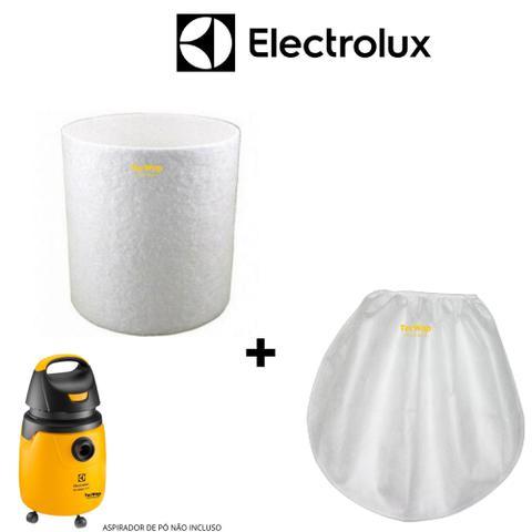 Imagem de Kit Filtro Aspirador Eletrolux Gt20p Total Cleaning Machine + Touca Pano