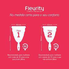 Imagem de Kit Fleurity Coletor Tipo 1 (2 unidades Tipo 1)