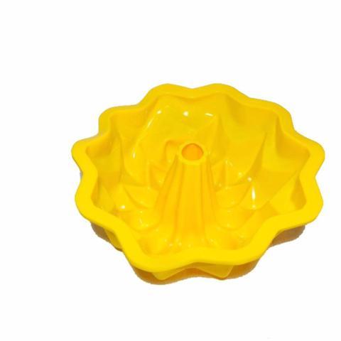 Imagem de Kit Formas Silicone Para Bolo Torta Pudim Pão Com 6 Formas