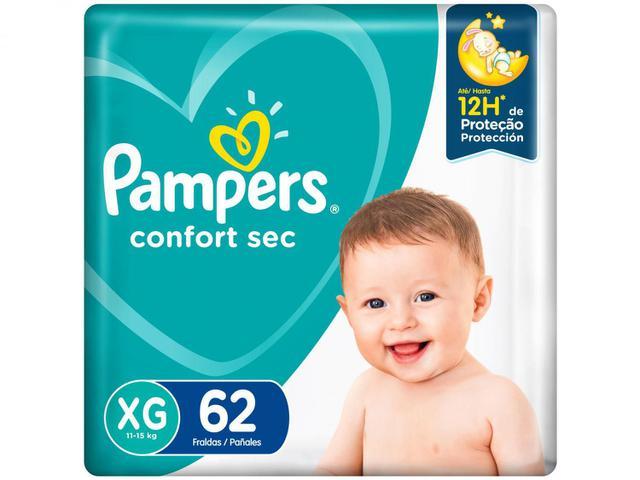 Imagem de Kit Fralda Pampers Confort Sec Tam. XG 11 a 15kg