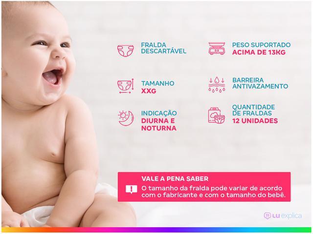 Imagem de Kit Fraldas Babysec Premium Galinha Pintadinha