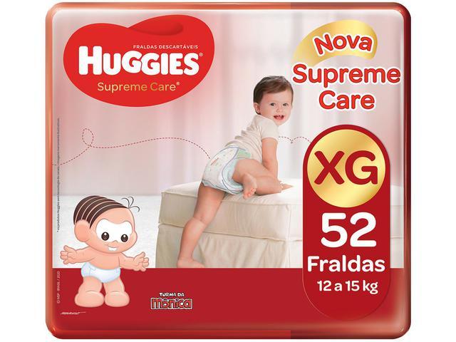 Imagem de Kit Fraldas Huggies Supreme Care