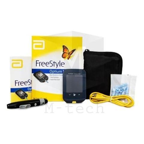 Imagem de Kit Freestyle Optium Neo 100 Tiras + Glicosimetro