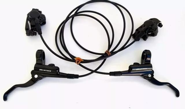 Imagem de kit freio hidráulico ballistech /vicinitech  tipo shimano