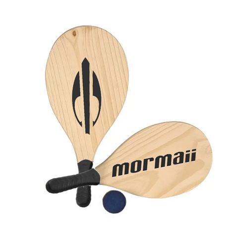 Imagem de Kit Frescobol 2 Raquetes + 1 Bola Mormaii