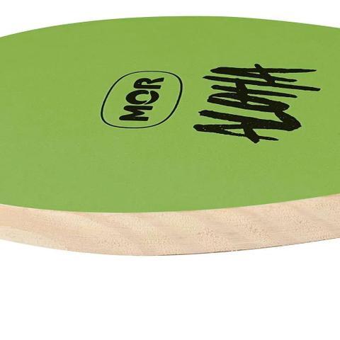 Imagem de Kit Frescobol 2 Raquetes e Bola Madeira Verde Mor 3700