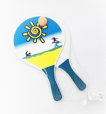 Imagem de Kit Frescobol Com 3 Peças P/ Praia