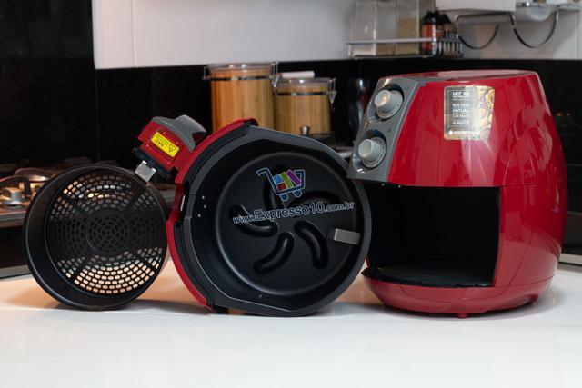 Imagem de Kit Fritadeira + Liquidificador + Sanduicheira - Vermelho