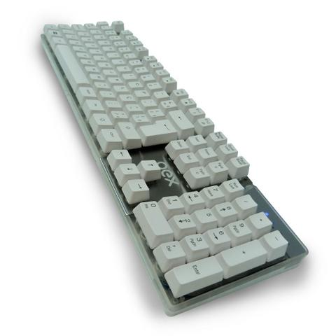 Imagem de Kit Gamer OEX Combo Teclado Prismatic Semi Mecânico TC205 + Mouse Robotic MS308