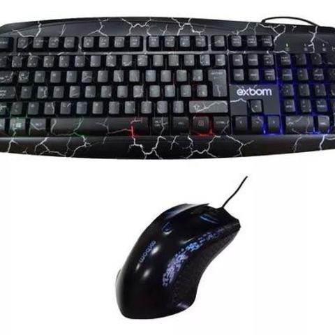 Kit Teclado e Mouse Bk-g600 Exbom