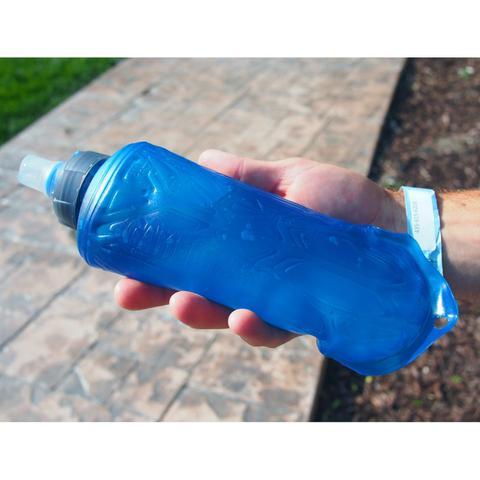 Imagem de Kit Garrafa Flexível 500ml Quick Stow Flask + 10 Pastilhas Purificadora de Água Clorin