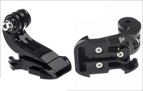 Imagem de Kit Gopro Hero Action Sport Sjcam Suportes de Cabeça Peitoral Ventosa Ajustável de Vidro Jhook