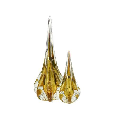 Imagem de Kit Gotas de Murano D'Labone - Cristal Âmbar (2 Peças)