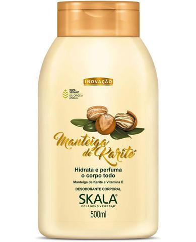 Imagem de Kit Hidratação Skala Vinagre de Maçã Com Keratina Vegetal 1kg + Shampoo e Condicionador 325ml + Hidratante 500ml