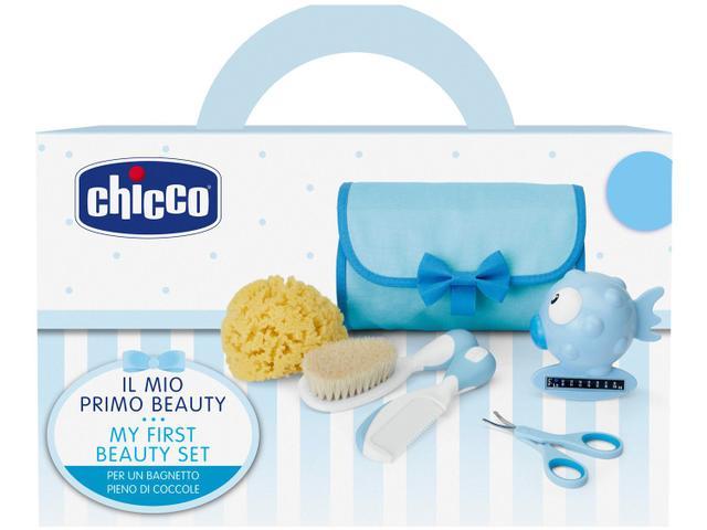 Imagem de Kit Higiene Bebê Chicco Meu Primeiro Kit Beleza